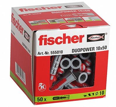 Fischer plug Duopower 10x50mm (50 stuks)