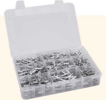 Q-SMALL Box Multigrip blindklinknagels 405-dlg (1 st.)