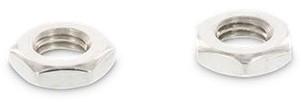 DIN 439 / ISO 4035 Lage zeskant moer M5 RVS-A2