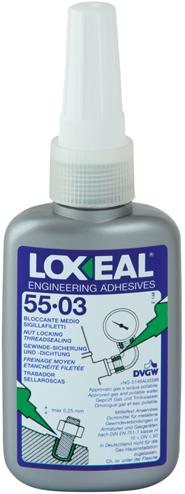 Loxeal 55-03 borgmiddel medium sterkte 50ml (alt. Loctite 243)