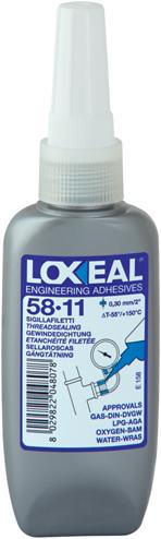 Loxeal 58-11 Grove draadafdichting 50ml (alt. Loctite 577)