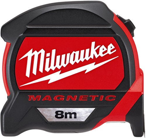 Milwaukee rolbandmaat Premium 27mm magn. L=8 mtr.