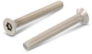 DIN 7991 / ISO 10642 Veiligheidsschroef VK/TX25 + pin M5x80 RVS-A2