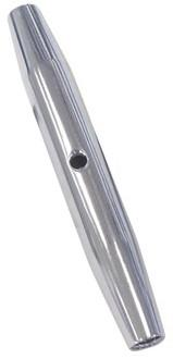 DIN 1478 Gesloten spanschroefhuis M12 RVS-A4, L=150mm