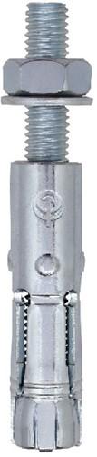FM-744 keilbouten 16x60-M10x145/80 verzinkt