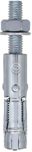 FM-744 keilbouten 16x60-M10x95/25 verzinkt