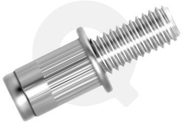 Q-Bolt Staal M6x10 - [2.5-4.0mm] (250 st.)