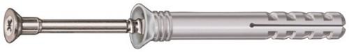 Allfa slagplug 6x80 staal verzinkt (200 stuks)
