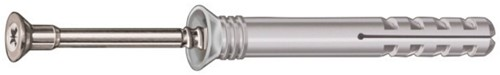 Slagplug 10x120 staal verzinkt (50 stuks)