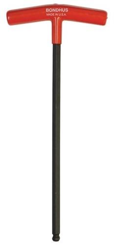 Bondhus T-Inbussleutel met kop (13168) SW6 L=266mm