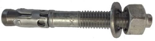 KALM optie 1 Doorsteekanker KDK-E M16x115/15 RVS-A4