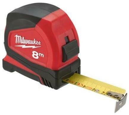 Milwaukee rolbandmaat PRO compact C8/25