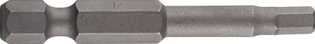 Cobit impact inbus bit HEX-5,0, 1/4x 50mm, box a 5""""