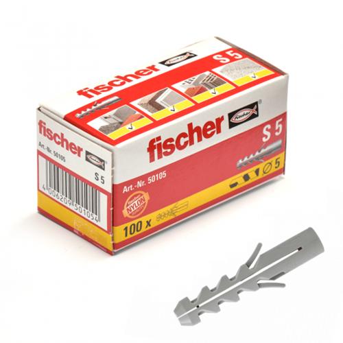 Fischer plug S5x25 mm (100 stuks)