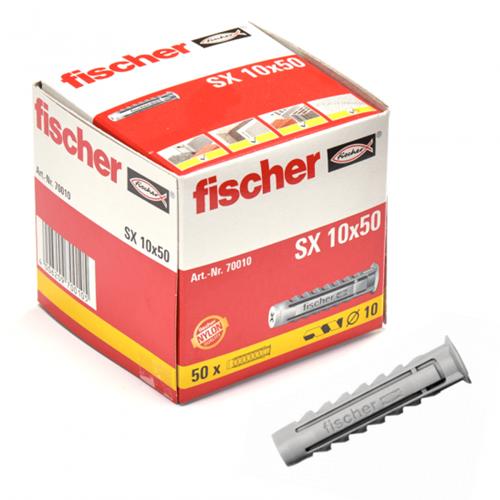 Fischer plug SX10x50 mm (50 stuks)