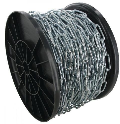 DIN 763 ketting lange schalm 3mm Rol a 100mtr RVS-A4
