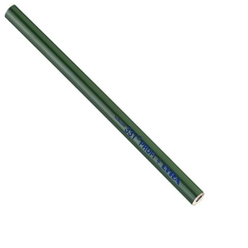 Lyra 331 - Groen(beton) timmermanspotlood 240mm