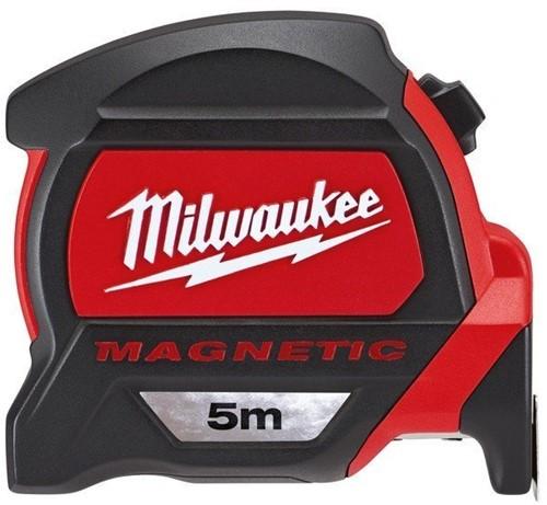 Milwaukee rolbandmaat Premium 27mm magn. L=5 mtr.