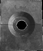ESS Persbekken set voor Hydr. perstang tbv 3mm persmoffen