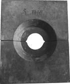 ESS Persbekken set voor Hydr. perstang tbv 6mm persmoffen