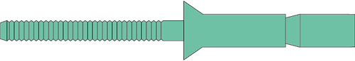 Q-M-Power popnagel Alu/Alu VK 4.8X16.0 - [3.2-12.2mm] (500 st.)