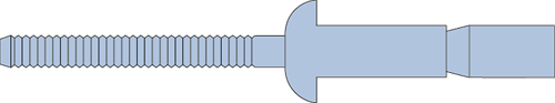 Q-M-Power popnagel Alu/Alu BK 4.8 X10.5 - [1.6-6.9mm] (500 st.)