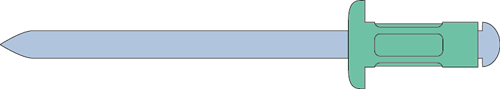 Q-Multigrip popnagel Alu/Staal BK 3.0 X 8.0 - [0.5-5.0mm] (500 st.)