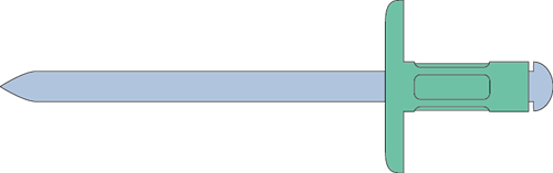 Q-Multigrip popnagel Alu/Staal XXL 4.8 X15.0X16.0 - [4.8-11.0mm] (250 st.)