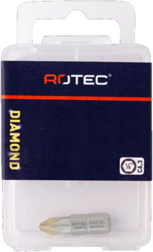 PRO Schroefbit PH 2 L=25mm C 6,3 DIAMANT (10 stuks)