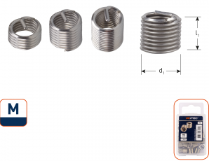 Ro-Coil draadinsert M12 - 2xD
