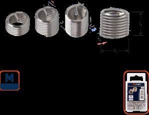 Ro-Coil draadinsert M8 - 2xD