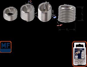 Ro-Coil draadinsert MF10x1,25 - 2xD