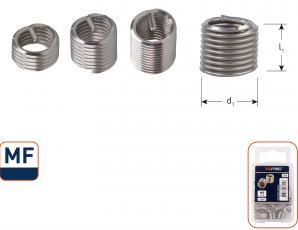 Ro-Coil draadinsert MF8x1 - 2xD
