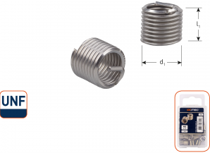 Ro-Coil draadinsert UNF 1/2-20 - 1,5xD