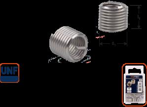 Ro-Coil draadinsert UNF 3/8-24 - 1,5xD