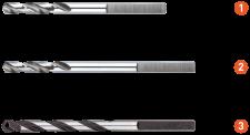 Centreerboor 110mm tbv Quick-adapter voor MULTI-gatzaag HSS