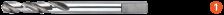 Centreerboor tbv standaard adapter voor HSS-Bi-gatzaag