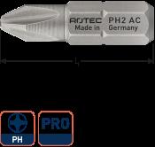 PRO Insertbit PH 2 L=25mm C 6,3 BASIC