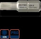 PRO Schroefbit XZN M6 L= 25, C6.3, BASIC (10 stuks)
