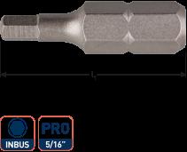 Insertbit 5/16 inbus  8,0 L= 38mm C 8 BASIC