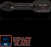 IMPACT Schroefbit PZ 3, L=30, C6.3, BASIC (10 stuks)