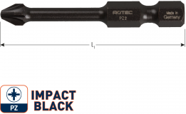 IMPACT Schroefbit PZ 3, L=50, E6.3, BASIC (5 stuks)