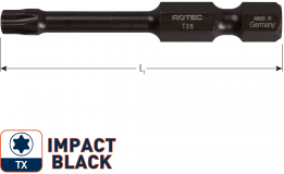 IMPACT insertbit T 25 L=50mm E 6,3  BASIC