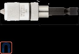 Magn.bith E6,3x65mm voor snelbouwschroef incl. 1 bit PH2R
