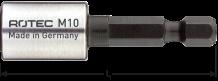 Stokschroef indraai hulpstuk  M10  L=50mm 1/4 E6,3