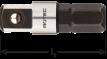 Adapter C 6,3 x 25mm x 1/4-4-kt. met kogel