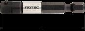 Adapter E 6,3 x 50mm x 1/4-4-kt. met stift
