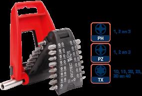 31dlg PRO Bitbox PZ/PH/TX inclusief bithouder