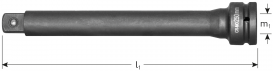 Verlengstuk 3/4''  L=200 mm
